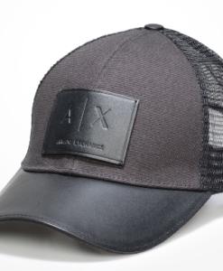 Ax Logo Mesh Hat Preto