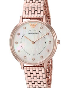 Emporio Armani Women's 'Kappa' Quartz and Stainless-Steel-Plated Casual Watch AR11006