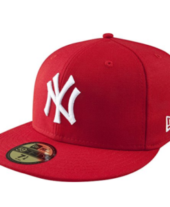 Boné New Era MLB Basic 59FIFTY Fitted red