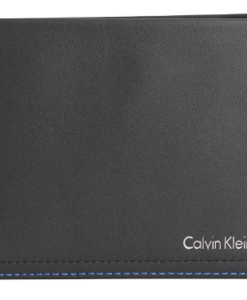 Carteira Calvin Klein Black/Blue Noel Billfold and Coin Wallet by Calvin Klein