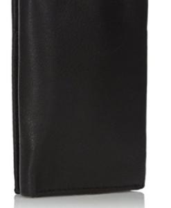 Carteira Calvin Klein Men's Calvin Klein Leather Trifold Wallet