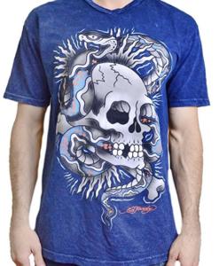 Camiseta Ed Hardy Men's T Shirt Snake Skull