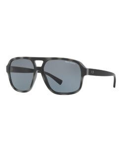 Dark Tortoise Aviator Sunglasses
