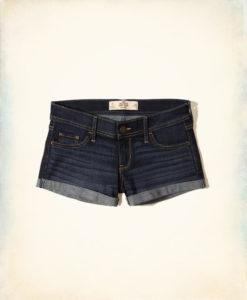 Short Hollister Low-Rise Denim Short-Shorts Jeans