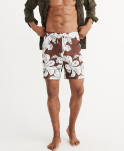 Bermuda Abercrombie & Fitch Classic Boardshorts Floral