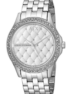 Armani Exchange Smart Womens Stainless Steel Watch White