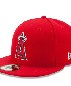 New Era 59FIFTY New Era Los Angeles Angels of Anaheim MLB 2017 Authentic Collection On Field Game Cap