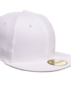 New Era Blank 59Fifty Fitted Hat White