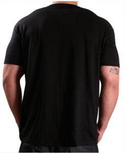 Ed Hardy Mens 77 Eagle Tattoo Graphic Tee Shirt - Black