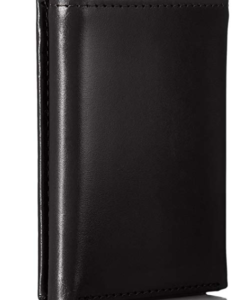 Tommy Hilfiger Men's Leather Cambridge Trifold Wallet black 2